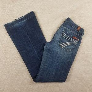 7FAMK Denim DOJO Jeans Size 25